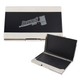 Bey Berk Carbon Fiber Business Card Holder-Primary Mark Engraved