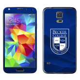 Galaxy S5 Skin-Becker College Shield