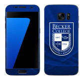 Samsung Galaxy S7 Skin-Becker College Shield