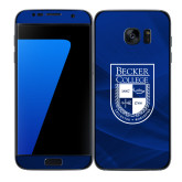 Samsung Galaxy S7 Edge Skin-Becker College Shield