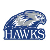 Medium Decal-Hawks Logo, 8 inches wide