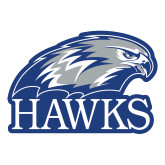 Large Decal-Hawks Logo, 12 inches wide