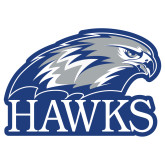 Extra Large Decal-Hawks Logo, 18 inches wide