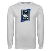 White Long Sleeve T Shirt-2018 Orientation