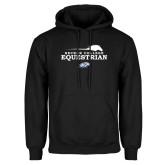 Black Fleece Hoodie-Equestrian Graphic