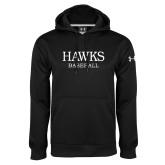Under Armour Black Performance Sweats Team Hoodie-Baseball