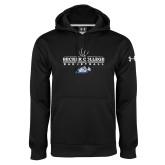 Under Armour Black Performance Sweats Team Hoodie-Basketball Graphic