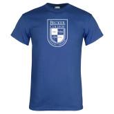 Royal T Shirt-Becker College Shield