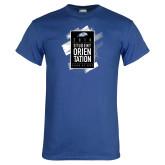 Royal T Shirt-2018 Student Orientation