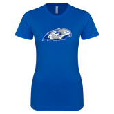 Next Level Ladies SoftStyle Junior Fitted Royal Tee-Hawk Head