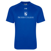 Under Armour Royal Tech Tee-Shield w/ Becker College