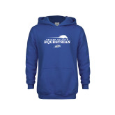 Youth Royal Fleece Hoodie-Equestrian Graphic