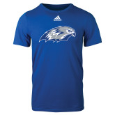 Adidas Royal Logo T Shirt-Hawk Head