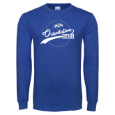 Royal Long Sleeve T Shirt-Class of 2022 Student Orientation