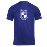 Russell Core Performance Royal Tee-Becker College Shield