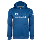 Under Armour Royal Performance Sweats Team Hoodie-Becker College Stacked
