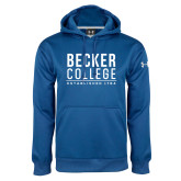 Under Armour Royal Performance Sweats Team Hoodie-Stacked Est. Year
