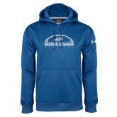 Under Armour Royal Performance Sweats Team Hoodie-Football Graphic