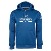 Under Armour Royal Performance Sweats Team Hoodie-Hockey Graphic
