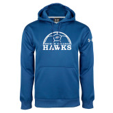Under Armour Royal Performance Sweats Team Hoodie-Soccer Graphic