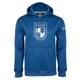 Under Armour Royal Performance Sweats Team Hoodie-Becker College Shield