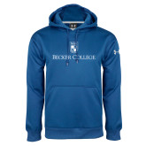 Under Armour Royal Performance Sweats Team Hoodie-Shield w/ Becker College