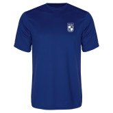 Performance Royal Tee-Becker College Shield