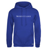 Russell DriPower Royal Fleece Hoodie-Wordmark