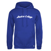 Russell DriPower Royal Fleece Hoodie-Script