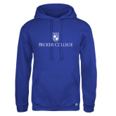 Russell DriPower Royal Fleece Hoodie-Shield w/ Becker College