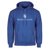 Royal Fleece Hoodie-Shield w/ Becker College