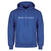 Royal Fleece Hoodie-Wordmark