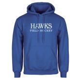 Royal Fleece Hoodie-Field Hockey