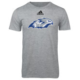 Adidas Sport Grey Logo T Shirt-Hawk Head