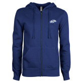 ENZA Ladies Royal Fleece Full Zip Hoodie-Hawk Head