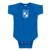 Royal Infant Onesie-Becker College Shield