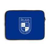 13 inch Neoprene Laptop Sleeve-Becker College Shield