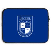 15 inch Neoprene Laptop Sleeve-Becker College Shield