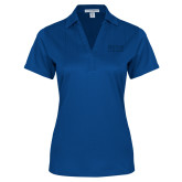 Ladies Royal Performance Fine Jacquard Polo-Becker College Stacked