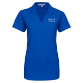 Ladies Royal Dry Zone Grid Polo-Becker College Stacked