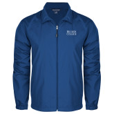 Full Zip Royal Wind Jacket-Becker College Stacked