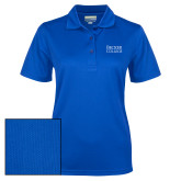 Ladies Royal Dry Mesh Polo-Becker College Stacked