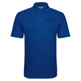 Royal Textured Saddle Shoulder Polo-Becker College Stacked