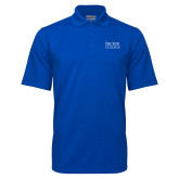 Royal Mini Stripe Polo-Becker College Stacked