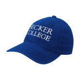 Royal OttoFlex Unstructured Low Profile Hat-Becker College Stacked