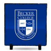 Photo Slate-Becker College Shield