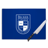 Cutting Board-Becker College Shield