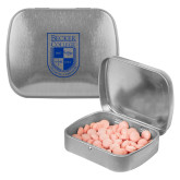 Silver Rectangular Peppermint Tin-Becker College Shield