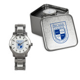 Ladies Stainless Steel Fashion Watch-Becker College Shield