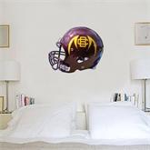 2 ft x 3 ft Fan WallSkinz-Wildcat Football Helmet